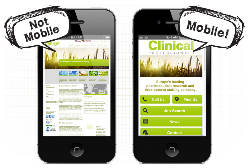 50 reasons to plan out your mobile website